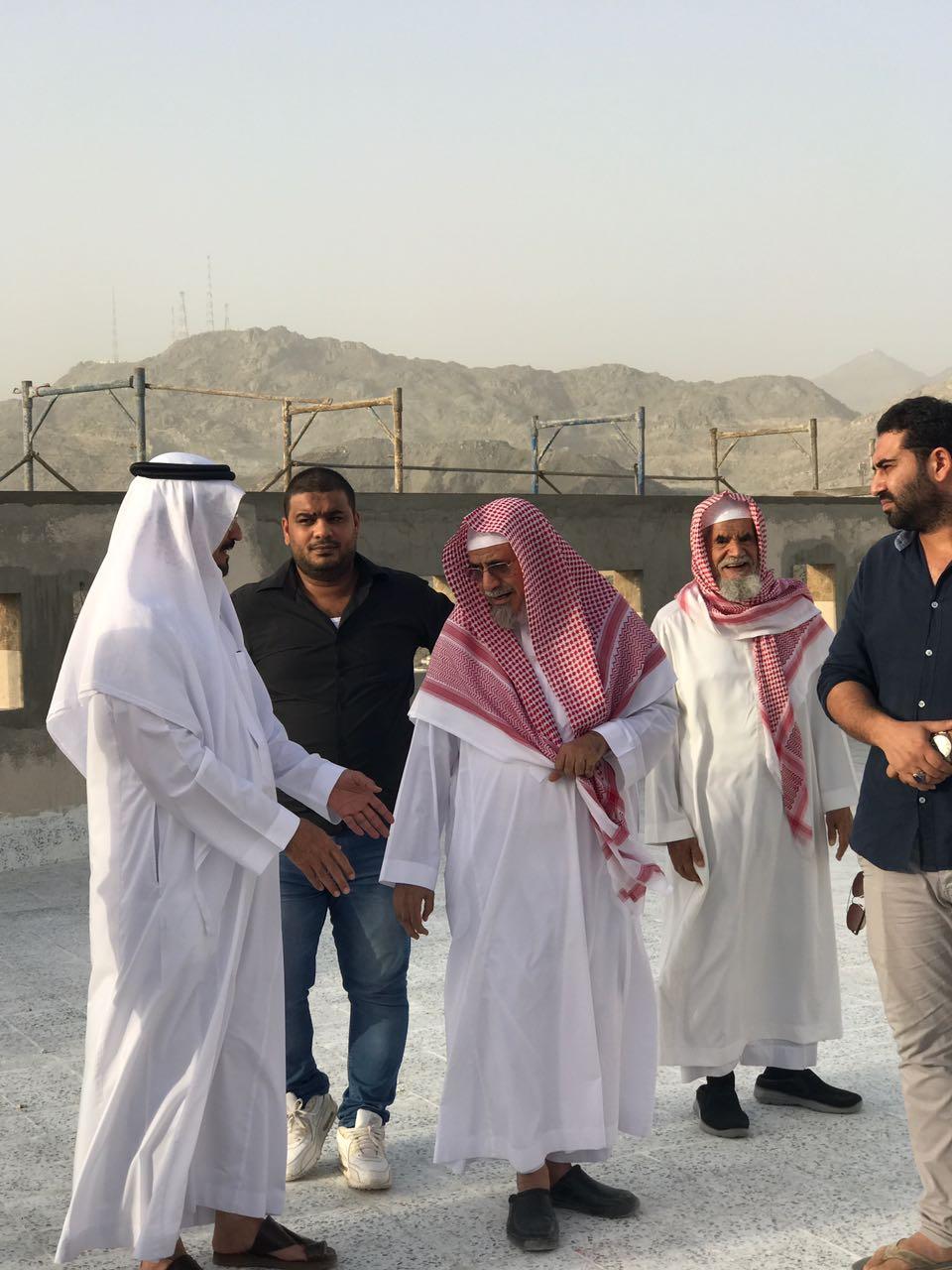 زيارة-الشيخ-الدكتور-صالح-بن-حميد-لوقف-الجمعية-بالهجرة